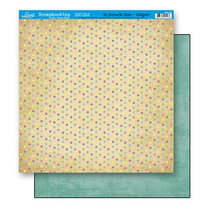 Papel Scrabook - Litoarte SD-126