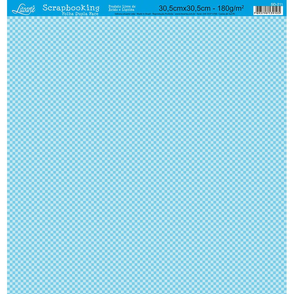 Papel Scrabook - Litoarte SD-211