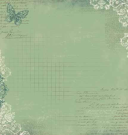Papel Scrabook - Litoarte SD-553