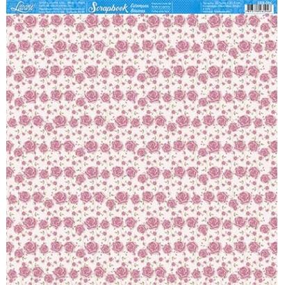 Papel Scrapbook - Litoarte - SBB-086