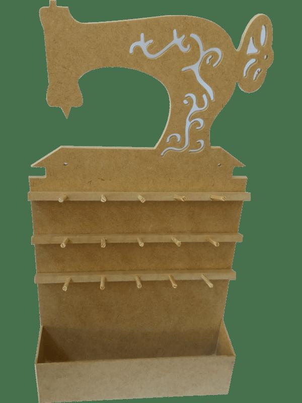 Porta Carretel em MDF - Máquina Parede