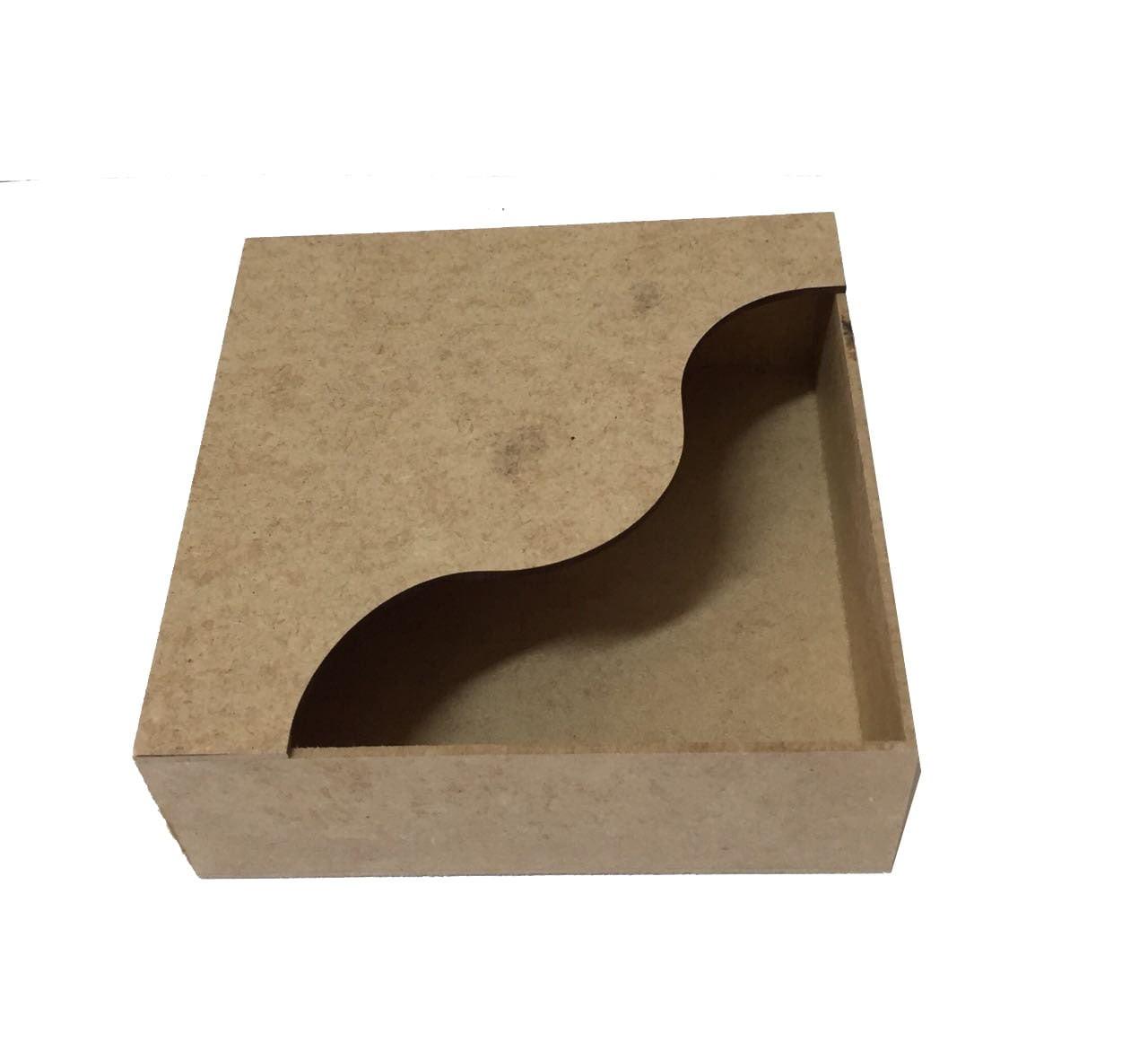 Porta Guardanapo em MDF - Caixa
