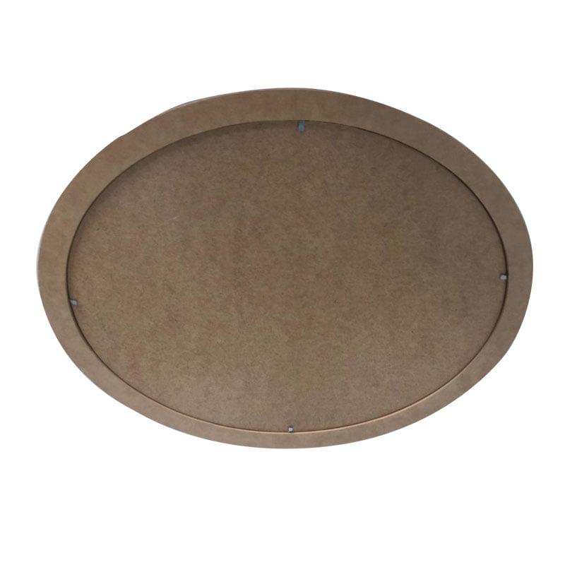 Quadro Oval em MDF - 43cm
