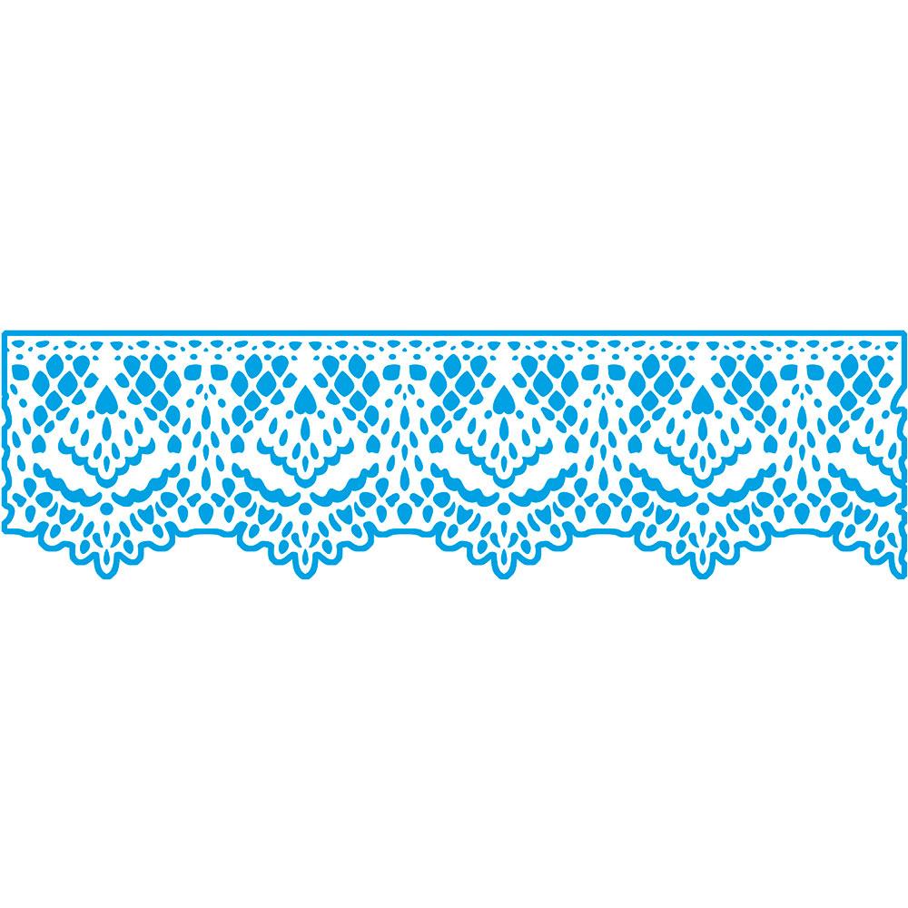 Stencil Litoarte STAB2 002 Rendado