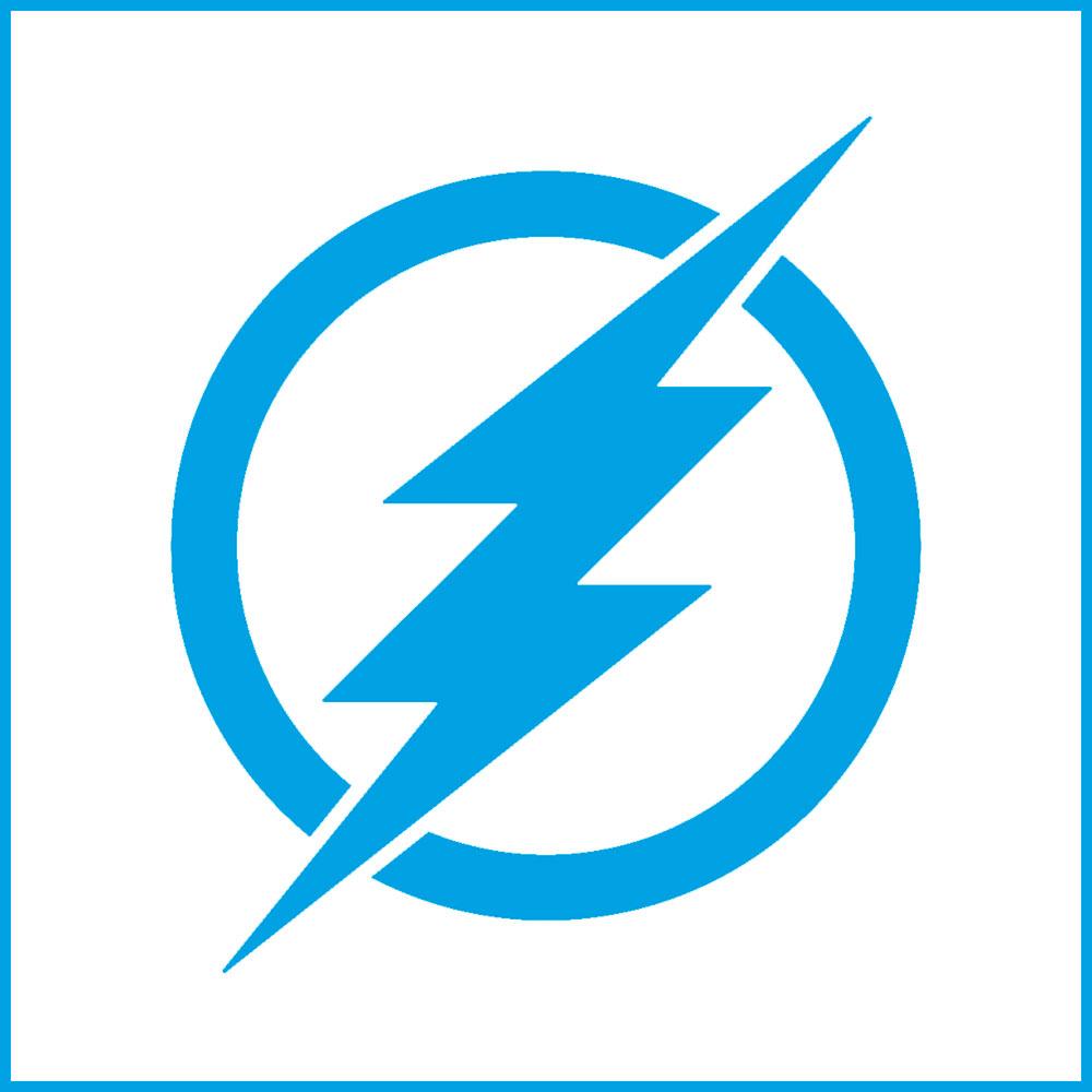 Stencil Litoarte STX 407 Super Herói Flash