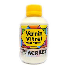 VERNIZ VITRAL 100ML BASE MADREPÉROLA 592