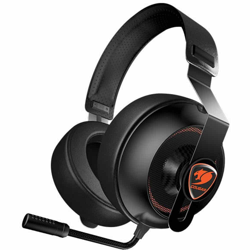 Headset Gamer Cougar Phontum Essential Preto – 3H150P40B-0001