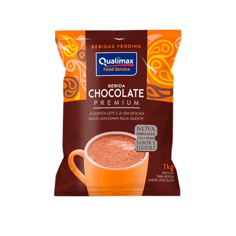 Bebida Chocolate Premium Solúvel Qualimax 1 kg