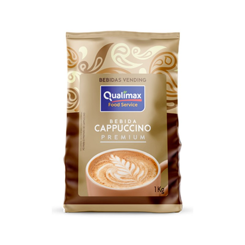 Cappuccino Qualimax Tradicional Premium 1 kg