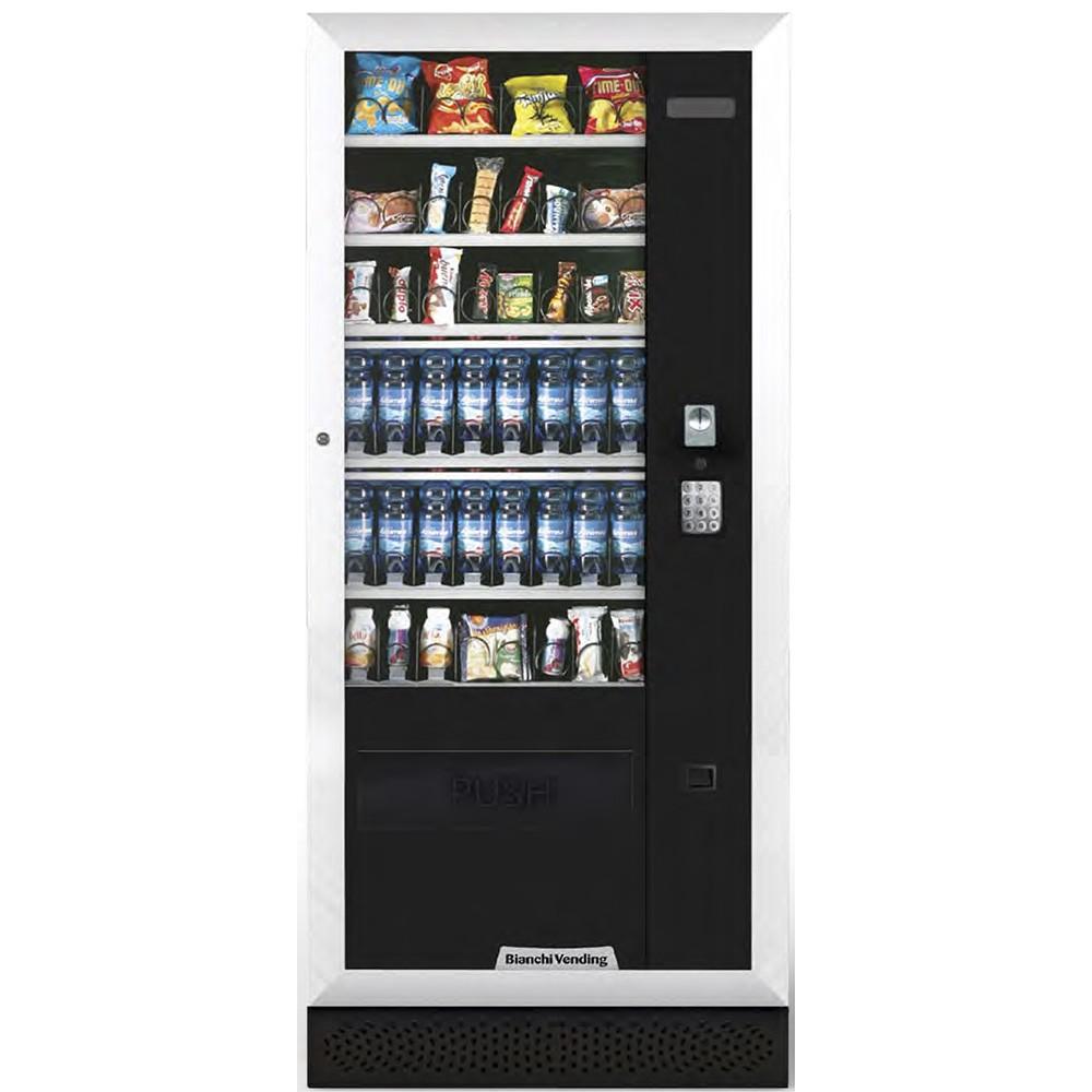 Máquina Automática Vending de Bebidas Frias, Produtos Frescos e Snacks Aria M Master Bianchi