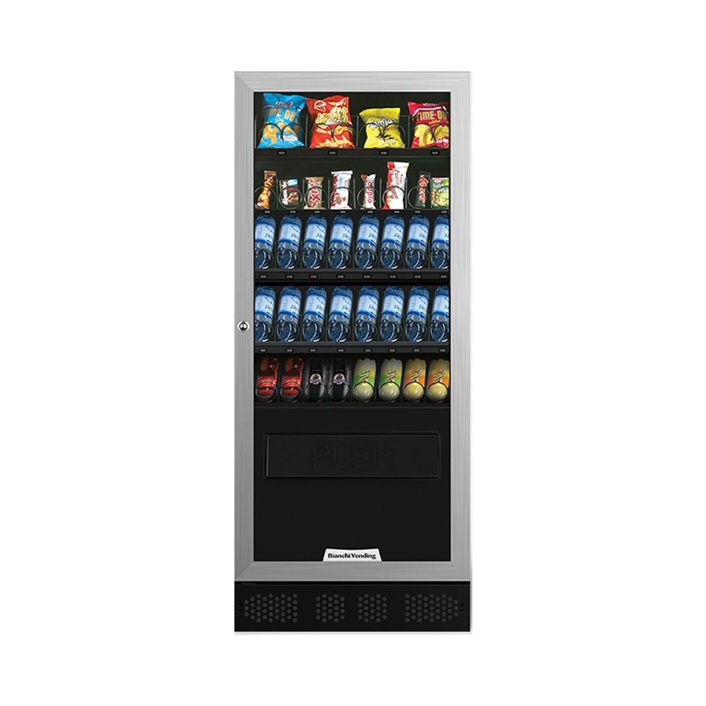 Máquina Automática Vending de Bebidas Frias, Produtos Frescos e Snacks Aria M Slave Bianchi