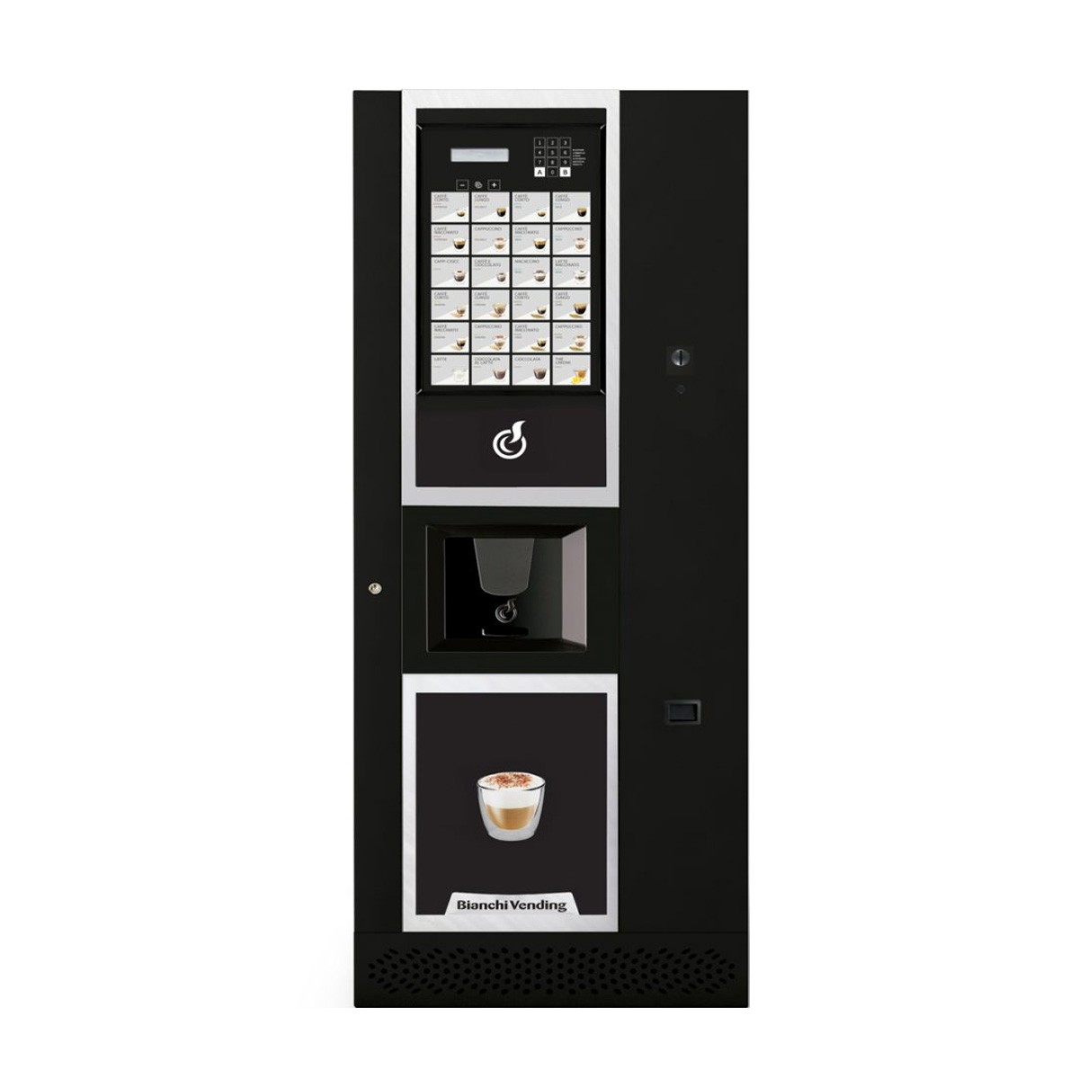 Máquina Automática Vending de Bebidas Quentes LEI 600 EASY Bianchi