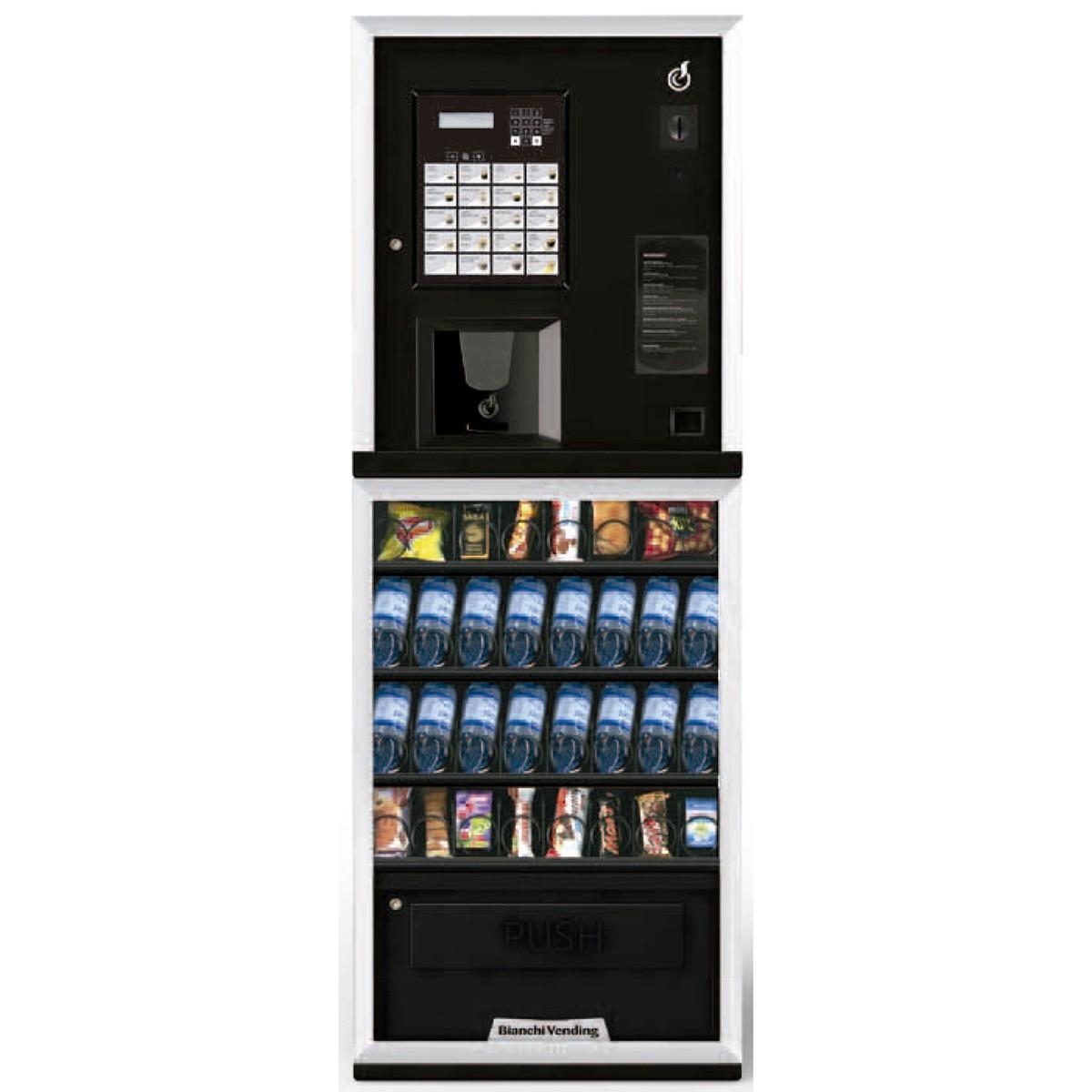 Máquina Automática Vending de Bebidas Quentes, Frias e Snacks LEI 300 Bianchi