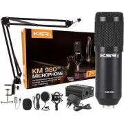 Microfone KM 980 KSR Condensador