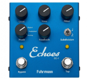Pedal Fuhrmann P/ Guitarra Echoes-Tap Delay Ec-01