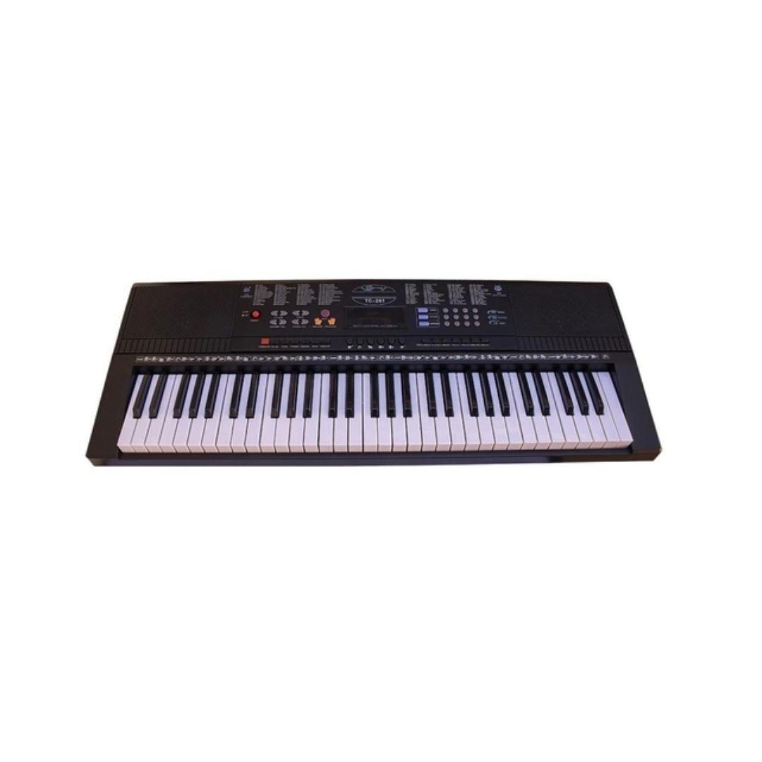 Teclado Musical Arranjador Spring 61 Teclas Tc-261