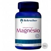 Magnésio 60 cápsulas - Schraiber