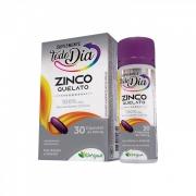 Zinco Quelato 250mg com 30 cápsulas