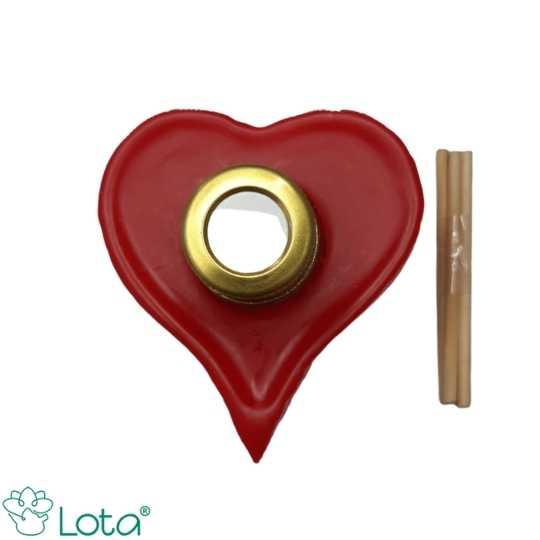 Kit Especial - Aromatizador coração vermelho