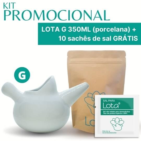 PROMOÇÃO Lota G porcelana