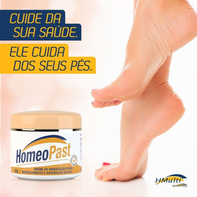Kit Saúde dos pés - HomeoFeet + HomeoPast