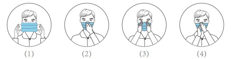 Máscara Tripla Proteção Bacteriana | Atóxica & Hipoalergênica