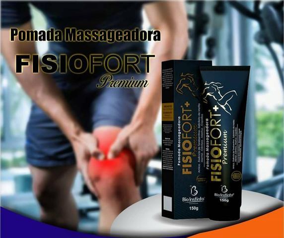Pomada Massageadora Fisiofort Premium
