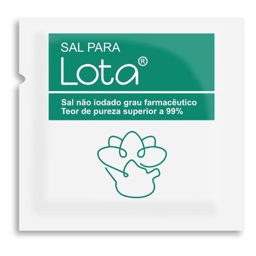 Sal Para o Lota ® - Embalagem com 60 sachês