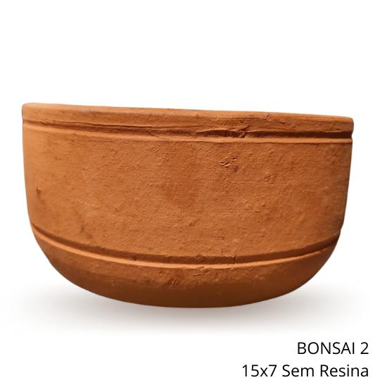 Vaso Bonsai 2 - Sem resina