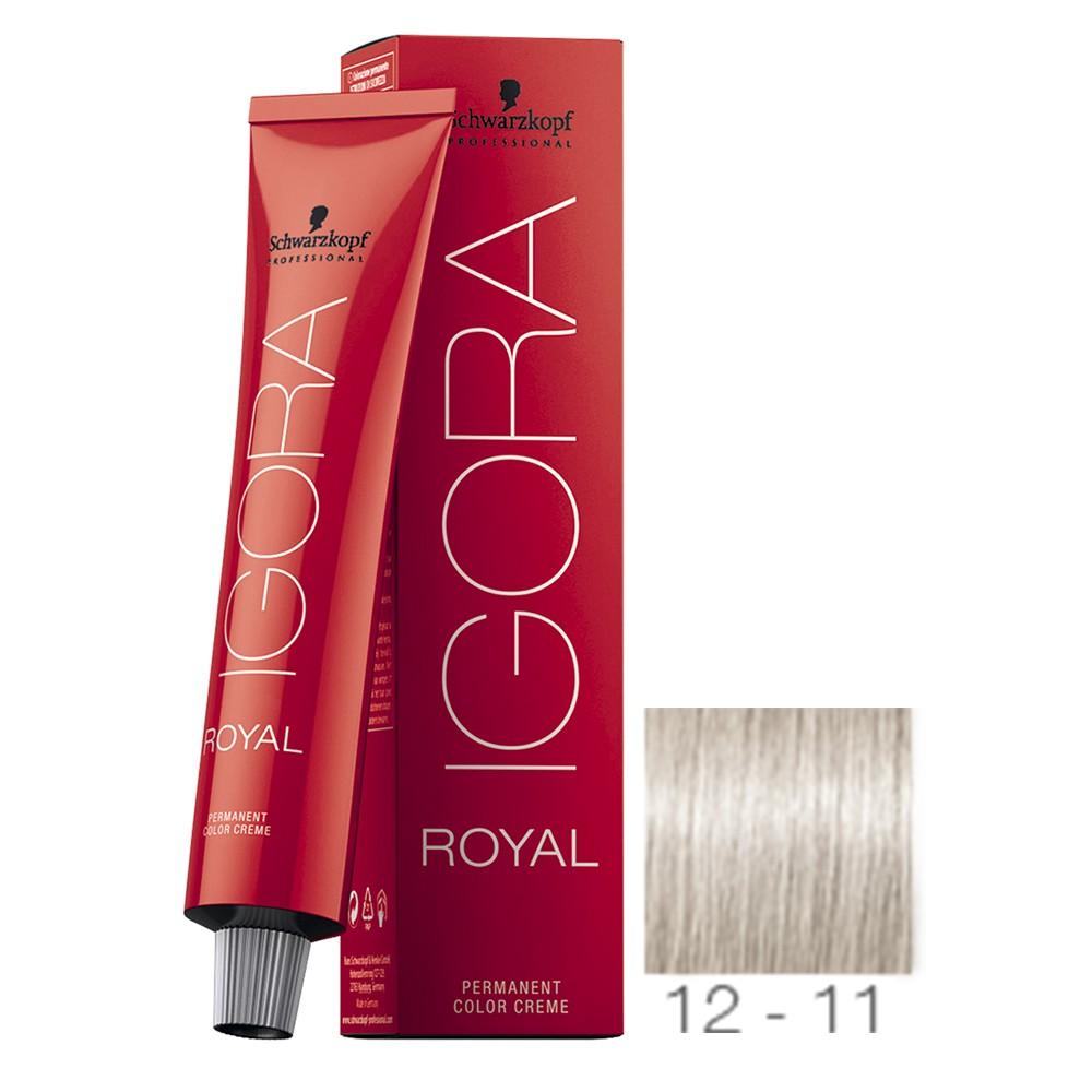 12-11 Super Clareador Cinza Extra - Igora Royal