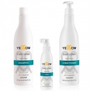 Alfaparf  Yellow Easy Long Kit Shampoo, Conditioner & Tonic Tahitian Algae