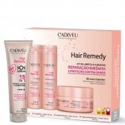 Cadiveu Hair Remedy Kit Home Care e SOS Sérum 15 em 1
