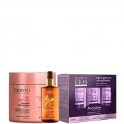 Kit Cadiveu Plastica dos Fios + Masc Hair Remedy + Açai Oil