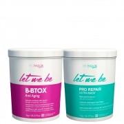 Kit Let Me Be BBtox Anti Aging e Capilar Pro Repair 2x1kg