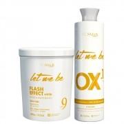 Kit Let Me Be Pó Descolorante + Oxidante 10 Volumes