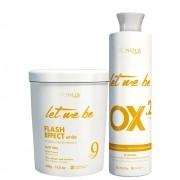 Kit Let Me Be Pó Descolorante + Oxidante 20 Volumes