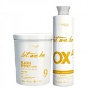 Kit Let Me Be Pó Descolorante + Oxidante 40 Volumes