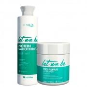 Kit Let Me Be Progressiva Protein + Btox Pro Repair 500ml