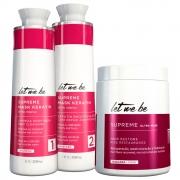 Kit Let Me Be Supreme Liss Progressiva + BBtox Anti Aging