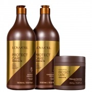 Kit Lowell Protect Care Power Nutri Tratamento Profissional