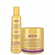 Kit Richée Clinic Repair System Shampoo 250 ml + Máscara 500g