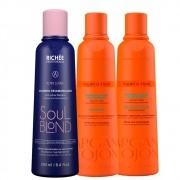 Kit Richée Manutenção Pós-Progressiva + Shampoo Soul Blond