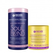 Kit Richée Máscara Clinic Repair + Soul Blond Termo Ativado