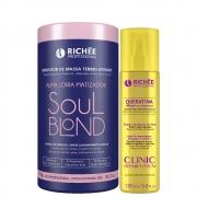Kit Richée Soul Blond Repositor De Massa+ Queratina Clinic