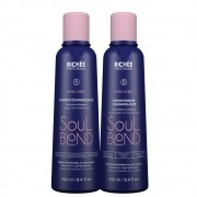 Kit Richée Soul Blond Shampoo + Condicionador Desamarelador