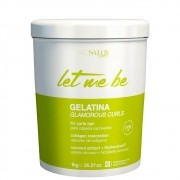 Let Me Be Gelatina Glamorous Curls para Cabelos Cacheados 1L