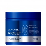 Lowell Violet Platinum Máscara Loiro Hidratado Matizado 450g