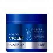 Lowell Violet Platinum Máscara + Shampoo Loiro Hidr. Matizado