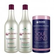 Richée Bioplástica Escova Progressiva + Soul Blond Repositor