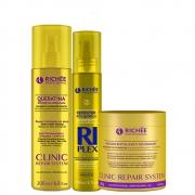 Richée Clinic Repair + Queratina Líquida + Riplex Repositor